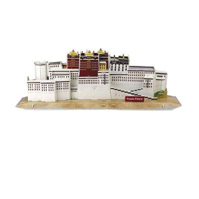 经典建筑立体拼图模型西藏布达拉宫