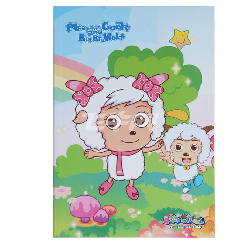 广博(guanbo)gb25287x 大32k卡面卡通软抄日记本/记事