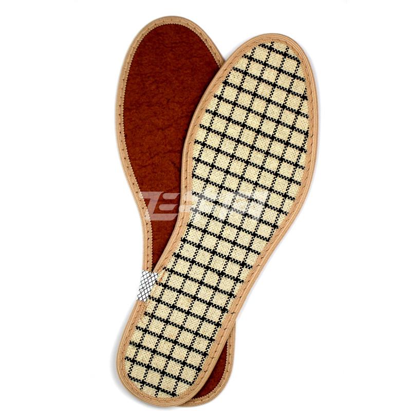 中药养脚鞋垫 格子色 36