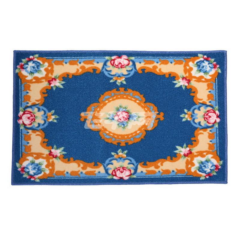 欧式蓝色地毯贴图高清