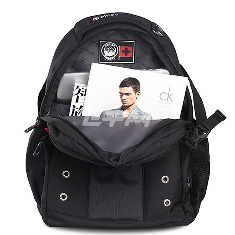 swisswin 瑞士十字 新型eva透气背带新款学生包运动休闲电脑双肩背包图片