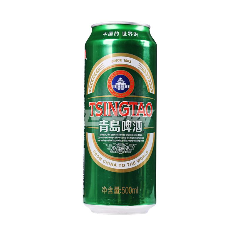 青岛啤酒经典10度500ml/罐