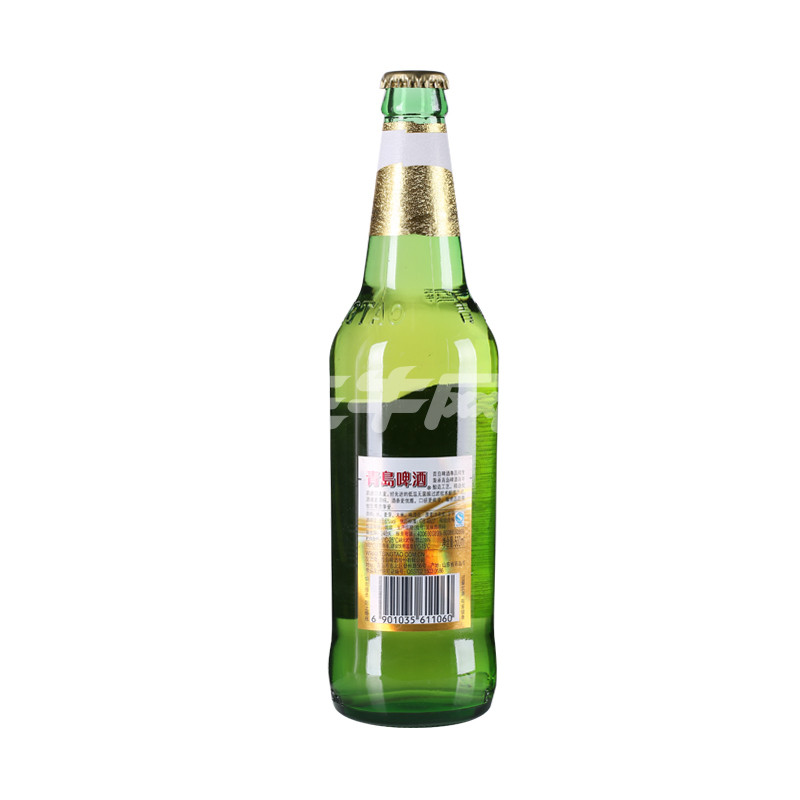 青岛尊品纯生啤酒500ml/瓶