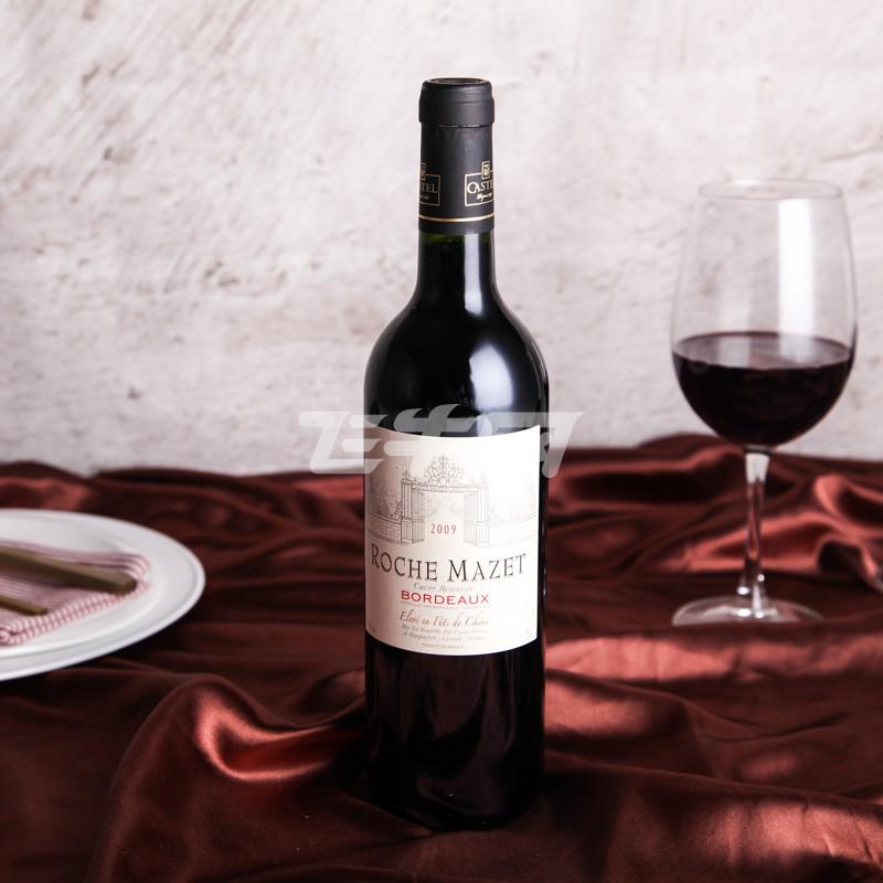 玛茜波尔多珍藏橡木桶红葡萄酒