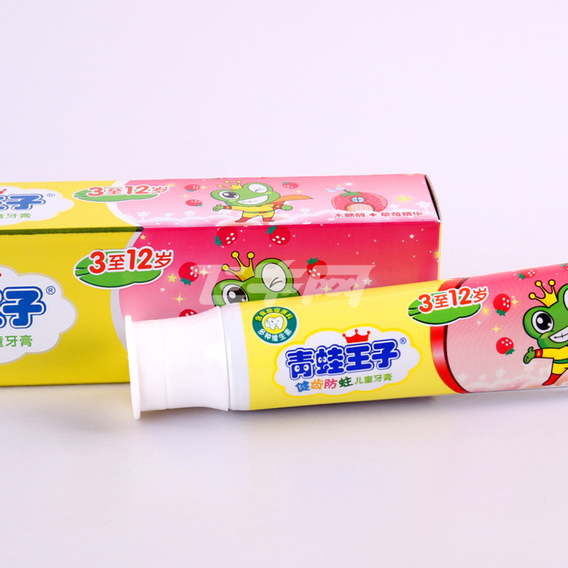青蛙王子儿童营养水晶牙膏(草莓)50g