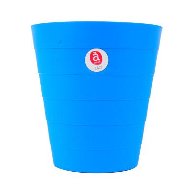 竹节型垃圾桶 24cm【价格