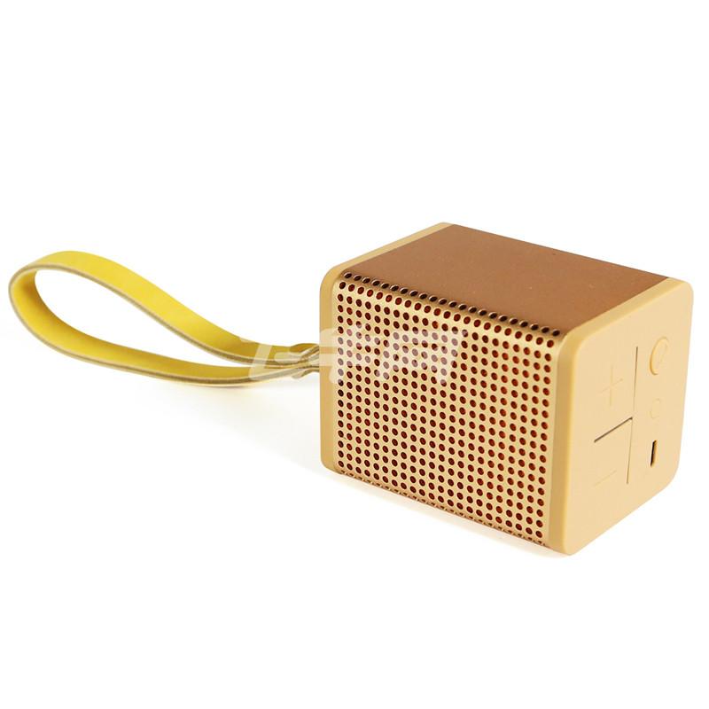 mipow boomin迷你 双向降噪高品质音效 蓝牙音箱 金色