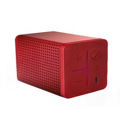 mipow boomin迷你 双向降噪高品质音效 蓝牙音箱 红色