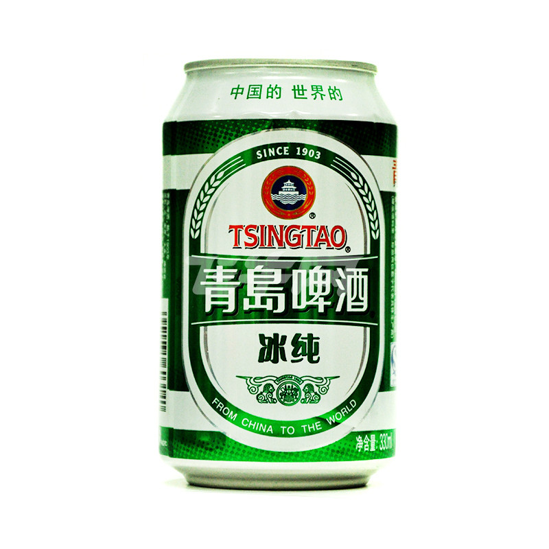 青岛啤酒(冰纯) 330ml/听