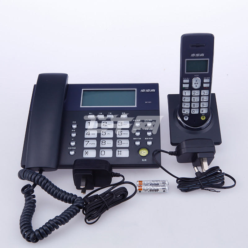 步步高 (bbk) w101 无绳电话机 (白色)