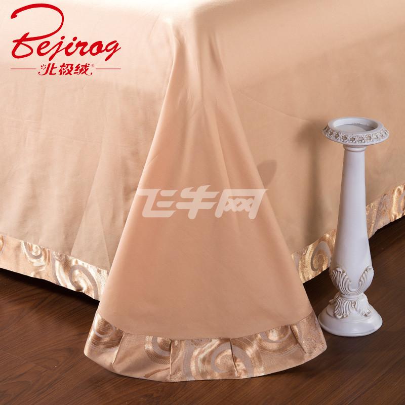 床上用品欧式贡缎提花四件套