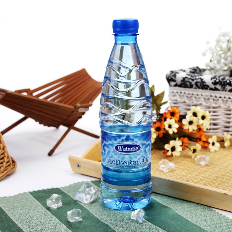 娃哈哈活性含氧水600ml/瓶图片