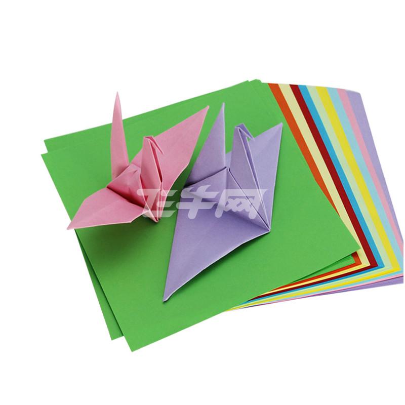 驰鹏10色手工折纸 5包装500张15*15cm正方形彩色折纸