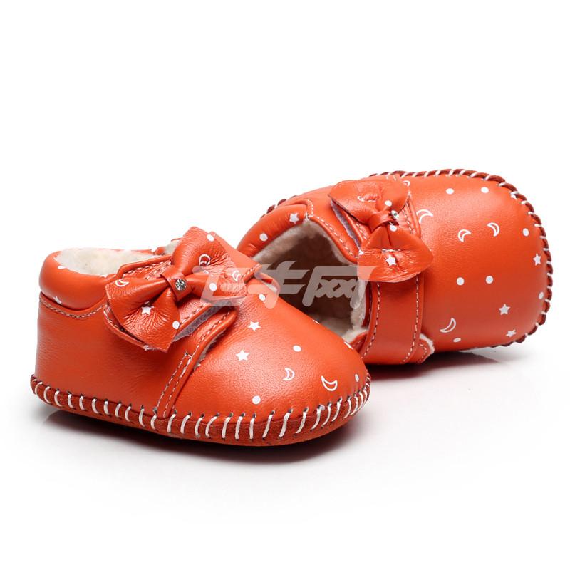 橘黄鞋子搭配图片