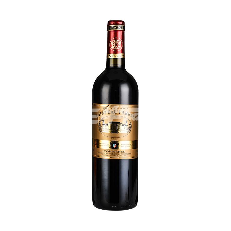法莱雅fn09干红葡萄酒750ml*2/盒