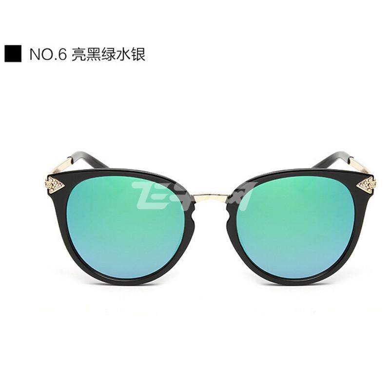 欣菲特 凯伦沃克同款太阳镜 潮流时尚太阳眼镜反光墨镜箭头太阳镜 502