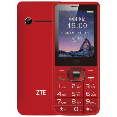 中兴(zte) cv19 电信2g手机 -红色