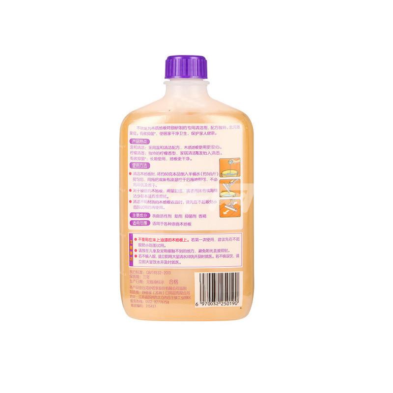 妙管家 木质地板清洁剂 柠檬清香 600g